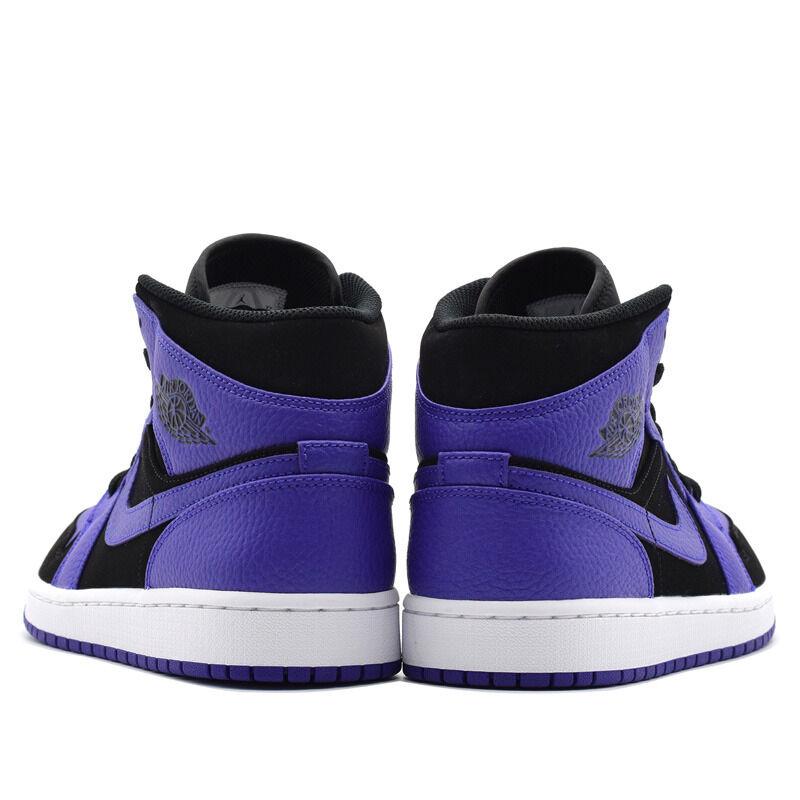 Air Jordan 1 Mid Black Dark Concord 籃球鞋/運動鞋 (554724-051) 海外預訂
