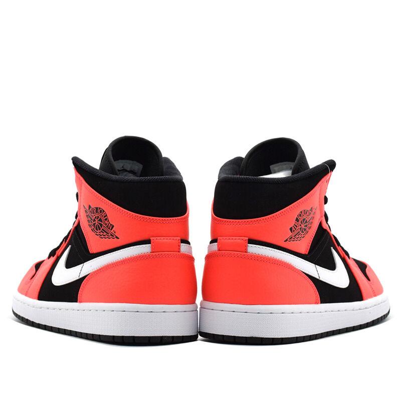 Air Jordan 1 Mid Black Infrared 籃球鞋/運動鞋 (554724-061) 海外預訂