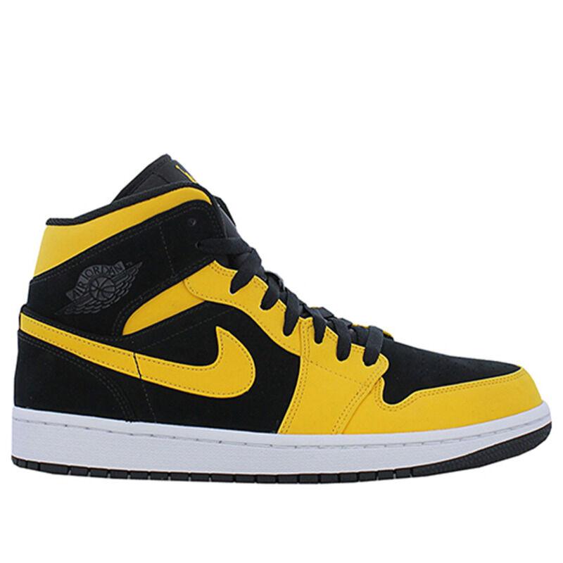 Air Jordan 1 Mid Black 籃球鞋/運動鞋 (554724-071) 海外預訂