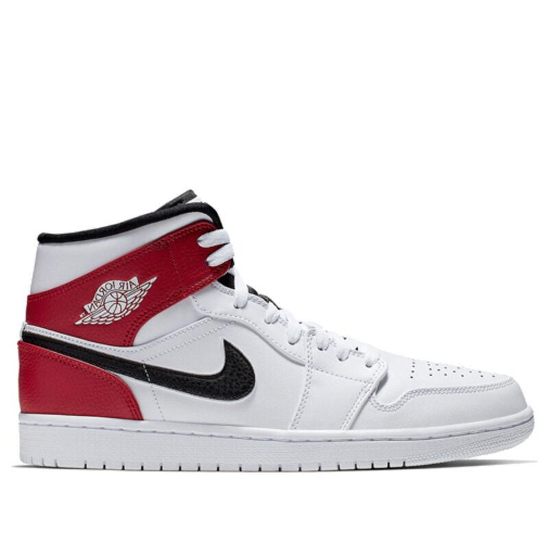 Air Jordan 1 Mid White 籃球鞋/運動鞋 (554724-116) 海外預訂