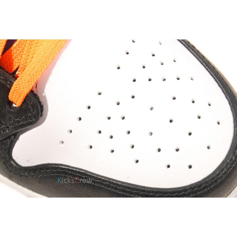 Air Jordan 1 Mid White Bright Citrus Purple 籃球鞋/運動鞋 (554724-117) 海外預訂