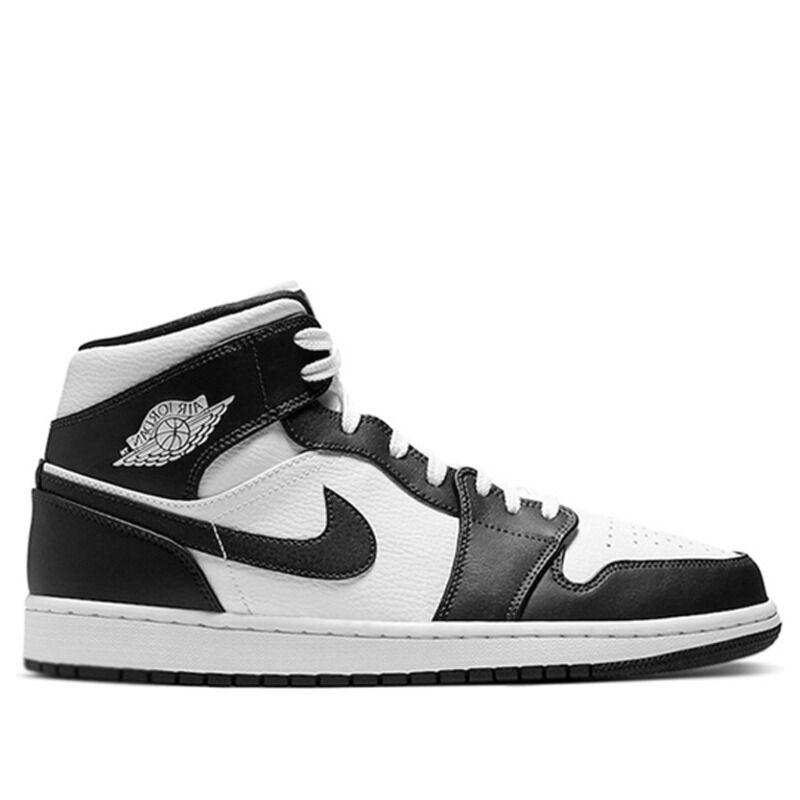 Air Jordan 1 Mid White Obsidian 籃球鞋/運動鞋 (554724-174) 海外預訂