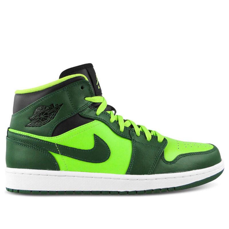 Air Jordan 1 Mid Gorge Green 籃球鞋/運動鞋 (554724-330) 海外預訂