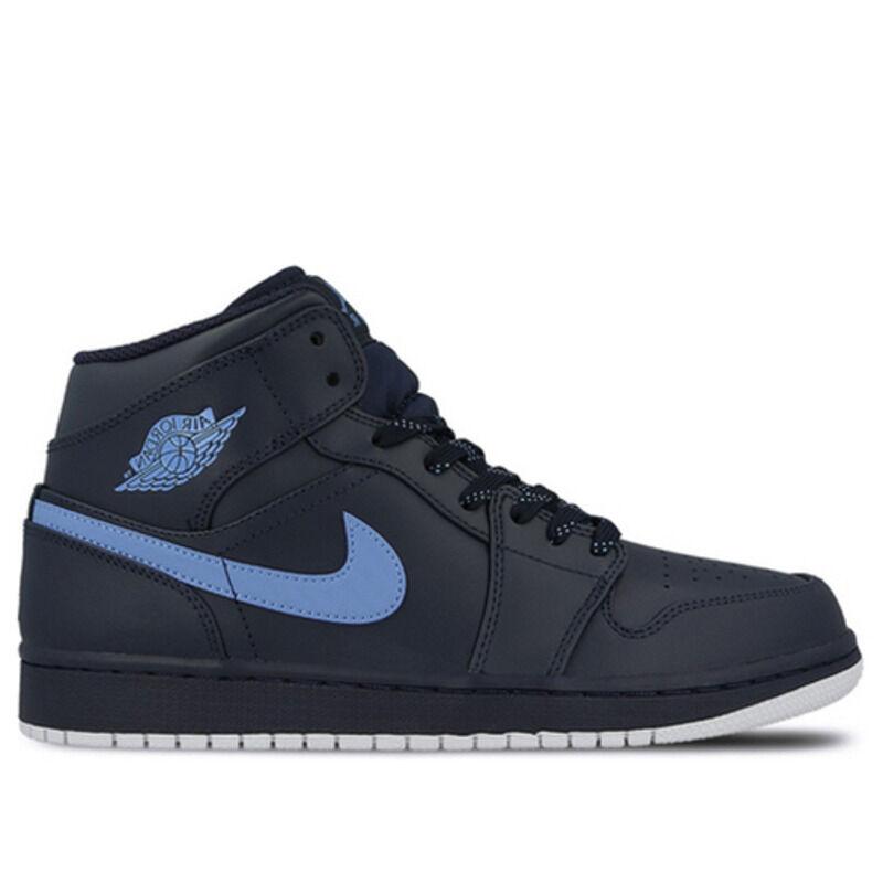 Air Jordan 1 Mid Obsidian 籃球鞋/運動鞋 (554724-405) 海外預訂