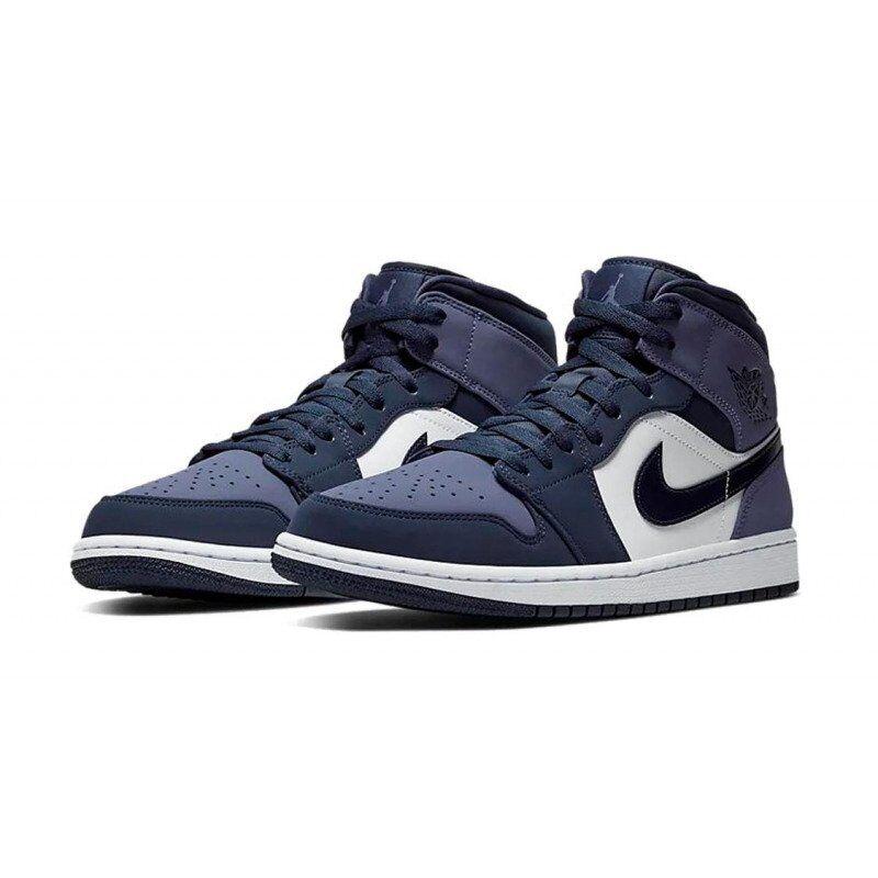 Air Jordan 1 Mid Sanded Purple 籃球鞋/運動鞋 (554724-445) 海外預訂