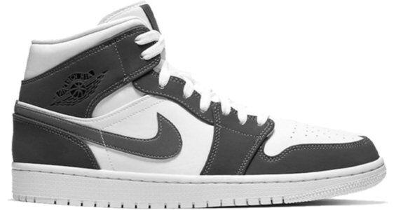 Air Jordan 1 Mid Hyper Royal Violet 籃球鞋/運動鞋 (554724-451) 海外預訂