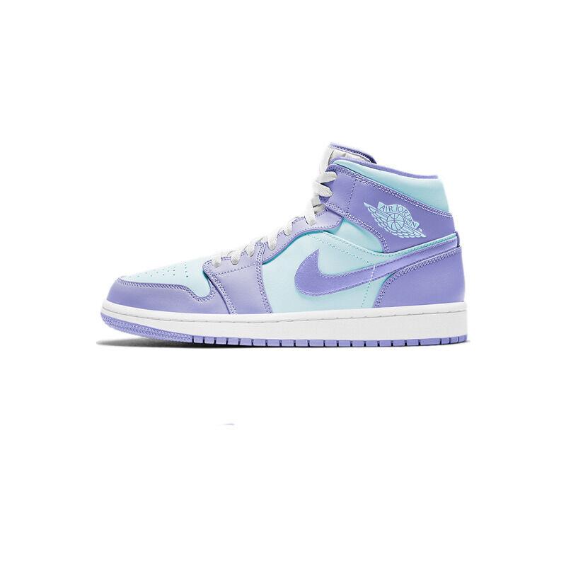 Air Jordan 1 Mid Purple Pulse 籃球鞋/運動鞋 (554724-500) 海外預訂