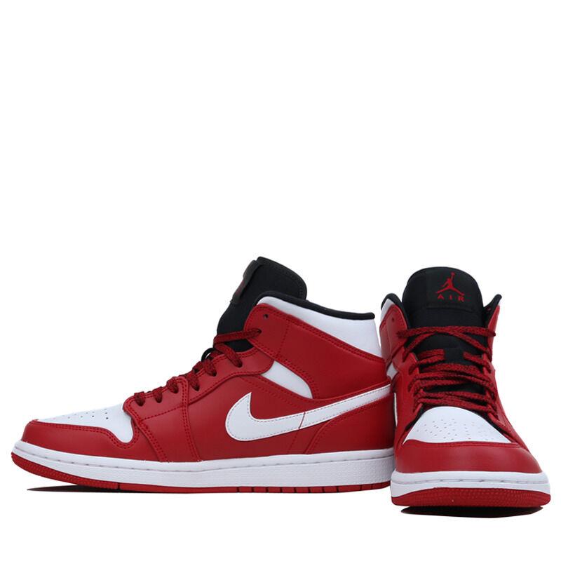 Air Jordan 1 Mid Chicago 籃球鞋/運動鞋 (554724-605) 海外預訂