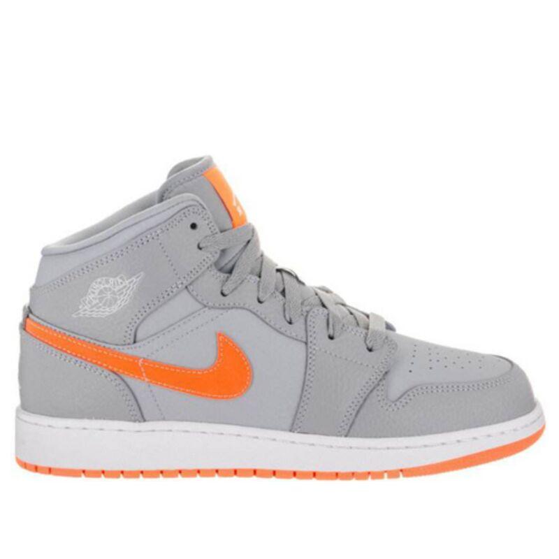 Air Jordan 1 Mid (GS) 籃球鞋/運動鞋 (554725-008) 海外預訂