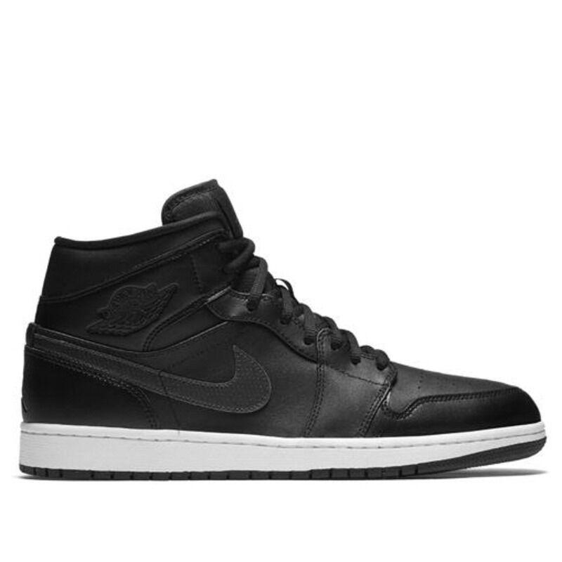 Air Jordan 1 Mid BG Black Gym Red 籃球鞋/運動鞋 (554725-009) 海外預訂