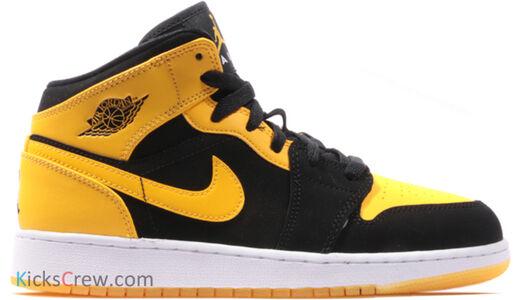 Air Jordan 1 Mid GS New Love 籃球鞋/運動鞋 (554725-035) 海外預訂