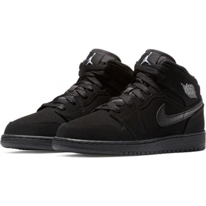 Air Jordan 1 Mid BG 籃球鞋/運動鞋 (554725-040) 海外預訂
