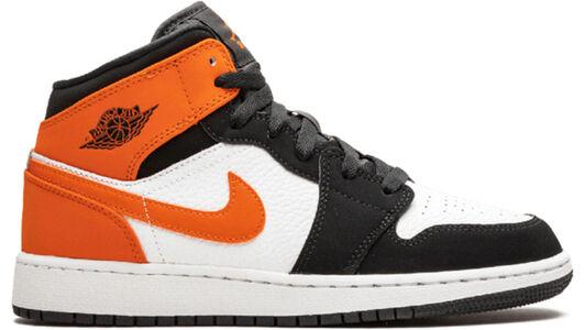 Air Jordan 1 Mid GS Shattered Backboard 籃球鞋/運動鞋 (554725-058) 海外預訂