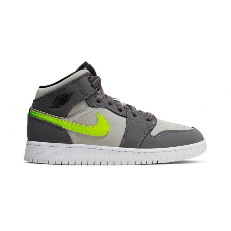Air Jordan 1 Mid (GS) JORDAN LEGACY 籃球鞋/運動鞋 (554725-072) 海外預訂