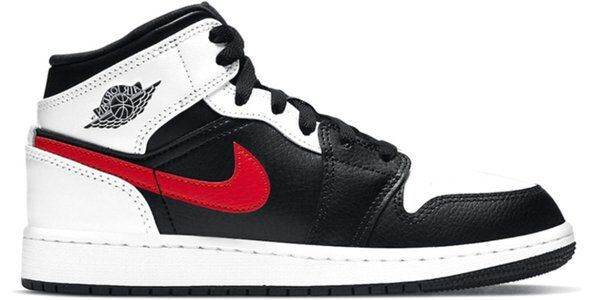 Air Jordan 1 Mid (GS) 籃球鞋/運動鞋 (554725-075) 海外預訂