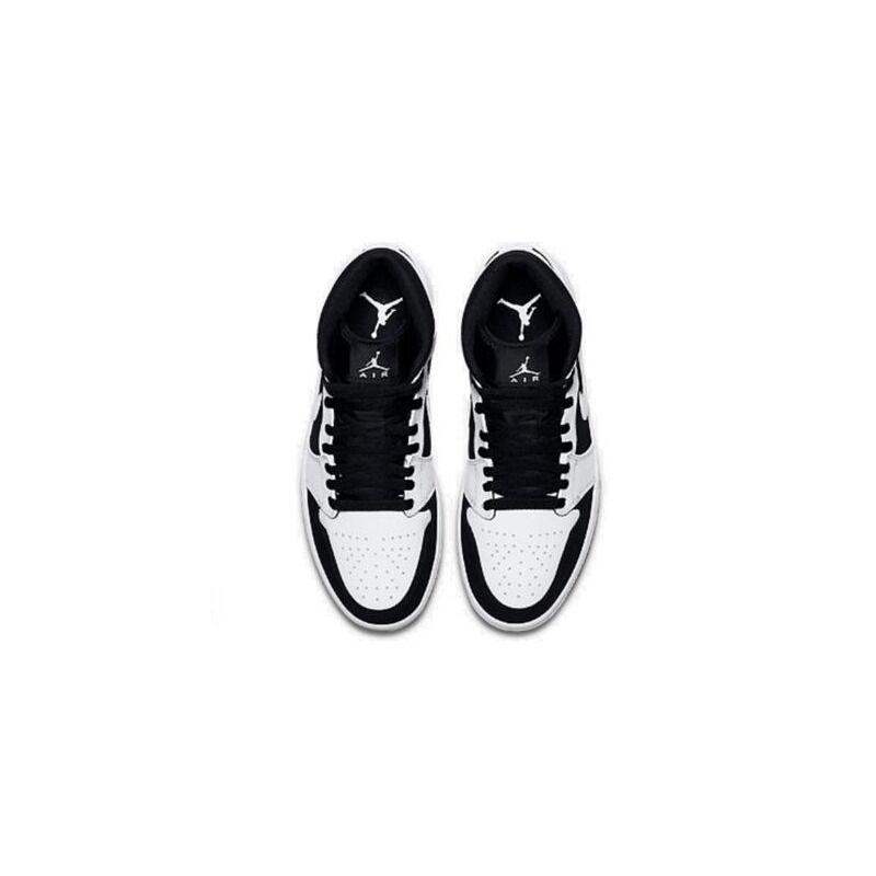 Air Jordan 1 Mid GS 籃球鞋/運動鞋 (554725-113) 海外預訂