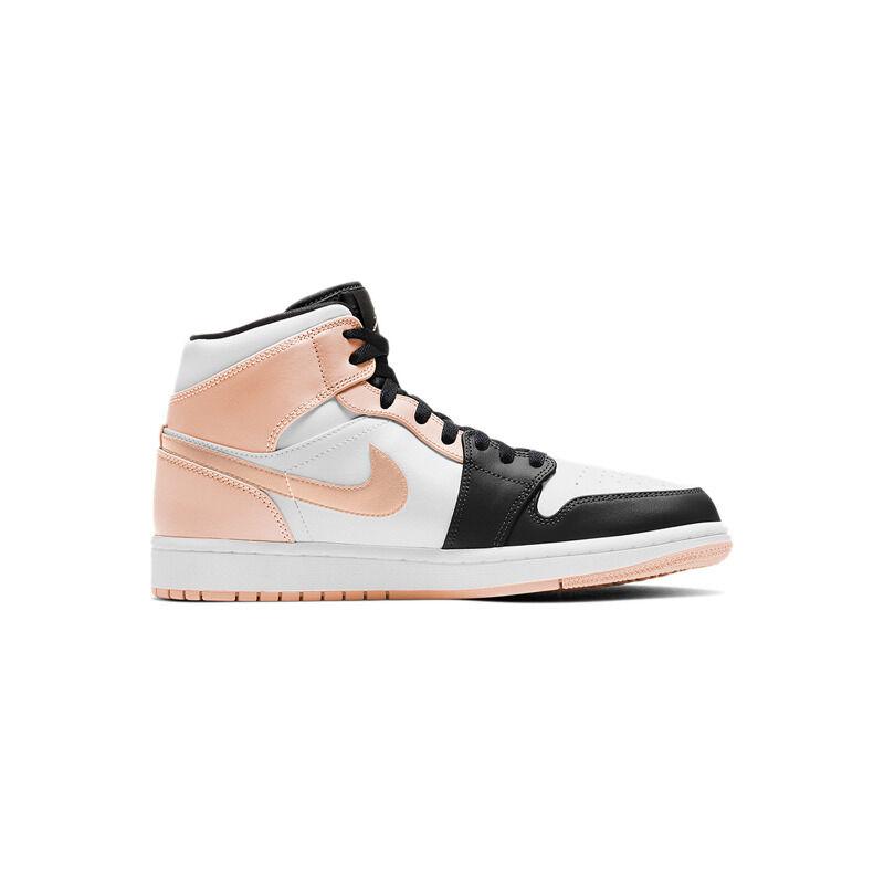 Air Jordan 1 Mid Crimson Tint (GS) 籃球鞋/運動鞋 (554725-133) 海外預訂