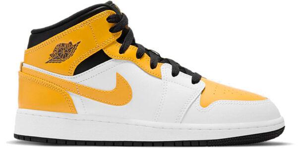 Air Jordan 1 Mid rsity Gold (GS) 籃球鞋/運動鞋 (554725-170) 海外預訂