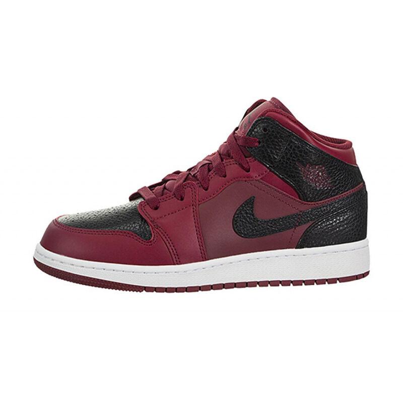 Air Jordan 1 Mid GS 籃球鞋/運動鞋 (554725-601) 海外預訂
