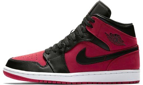 Air Jordan 1 Mid GS Gym Red 籃球鞋/運動鞋 (554725-610) 海外預訂
