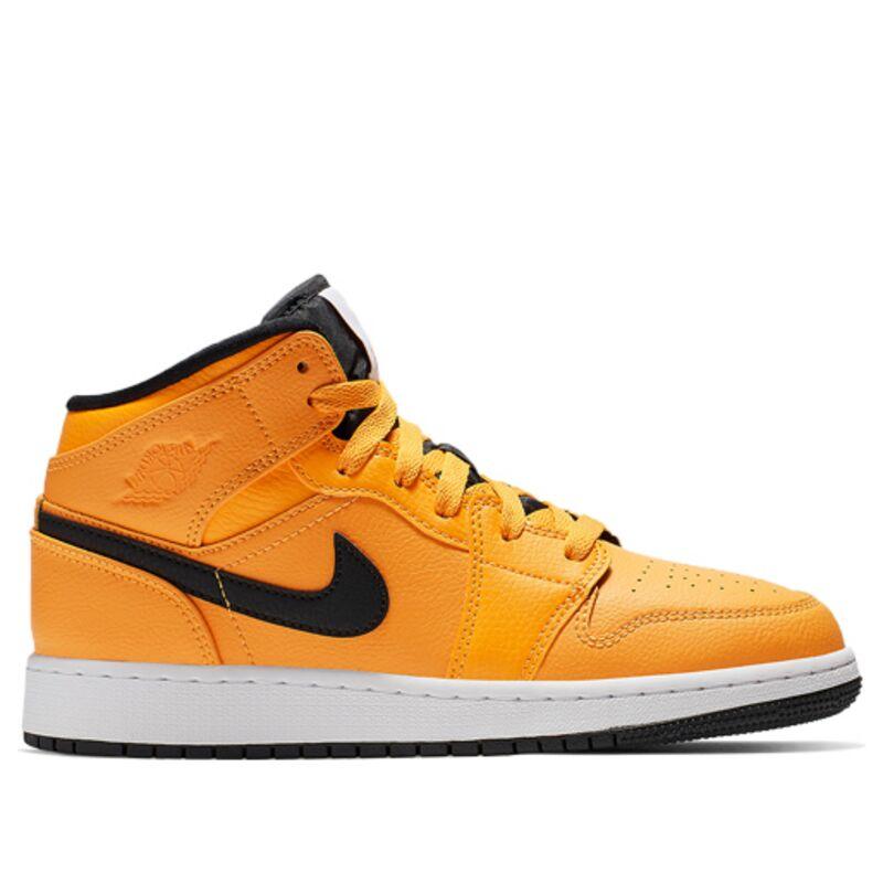 Air Jordan 1 Mid GS University Gold 籃球鞋/運動鞋 (554725-700) 海外預訂