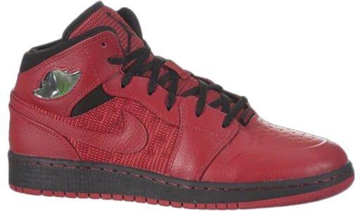 Air Jordan 1 Retro '97 TXT GS 'Gym Red' Gym Red/Black/Gym Red 籃球鞋/運動鞋 (555074-601) 海外預訂
