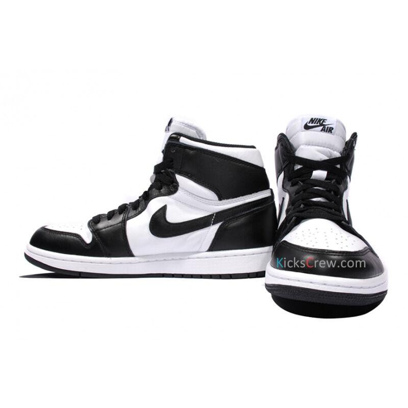 Air Jordan 1 High OG Black White 籃球鞋/運動鞋 (555088-010) 海外預訂