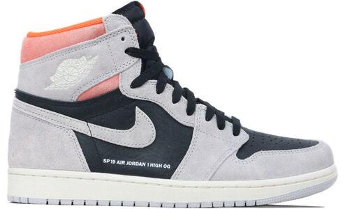 Air Jordan 1 Retro High OG Grey Crimson 籃球鞋/運動鞋 (555088-018) 海外預訂