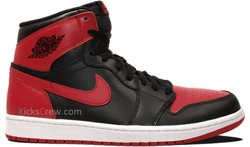 Air Jordan 1 Retro High OG Bred 籃球鞋/運動鞋 (555088-023) 海外預訂