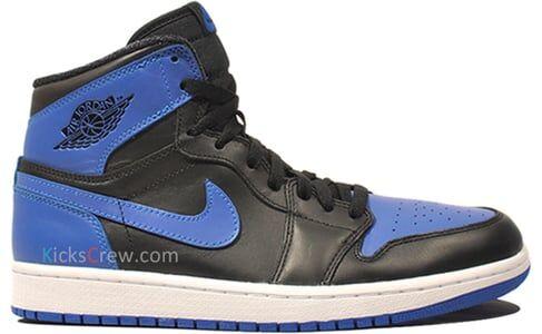 Air Jordan 1 Retro High OG Retro - Black Royal 籃球鞋/運動鞋 (555088-085) 海外預訂