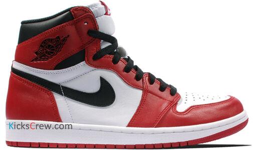 Air Jordan 1 Retro High OG Chicago 籃球鞋/運動鞋 (555088-101) 海外預訂