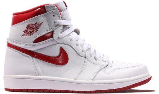 Air Jordan 1 Retro Metallic Red 籃球鞋/運動鞋 (555088-103) 海外預訂