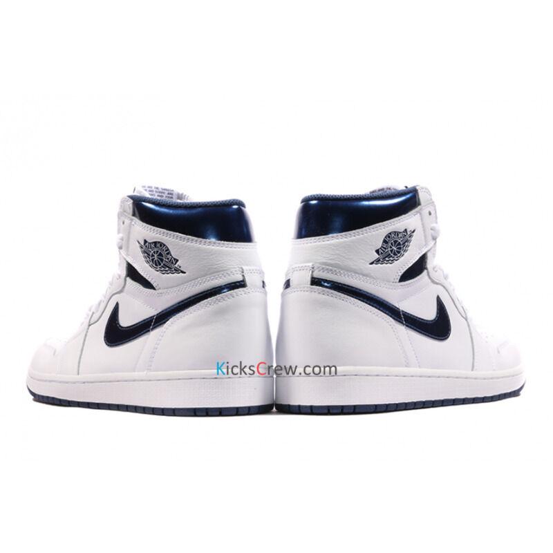 Air Jordan 1 Retro High OG Metallic Navy 籃球鞋/運動鞋 (555088-106) 海外預訂