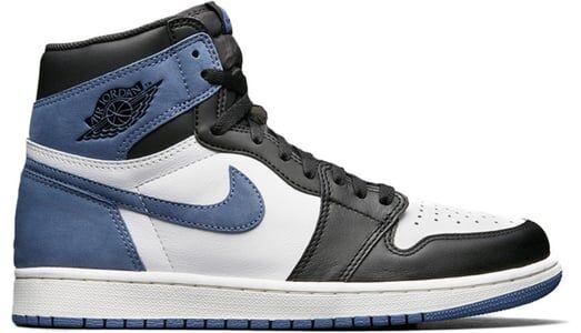 Air Jordan 1 Retro High OG Blue Moon 籃球鞋/運動鞋 (555088-115) 海外預訂