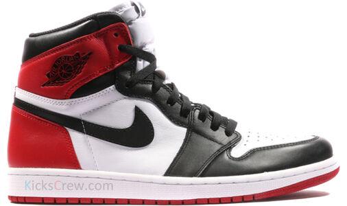 Air Jordan 1 Retro High OG Black Toe 籃球鞋/運動鞋 (555088-125) 海外預訂