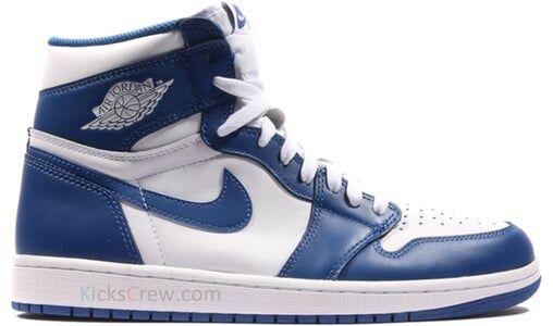 Air Jordan 1 Retro High OG Storm Blue 籃球鞋/運動鞋 (555088-127) 海外預訂