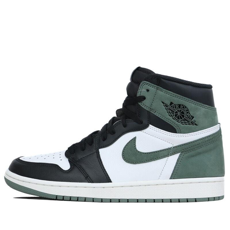 Air Jordan 1 Retro High OG Glay Green 籃球鞋/運動鞋 (555088-135) 海外預訂