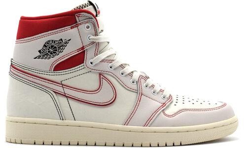 Air Jordan 1 Retro High OG Sail Phantom Red 籃球鞋/運動鞋 (555088-160) 海外預訂