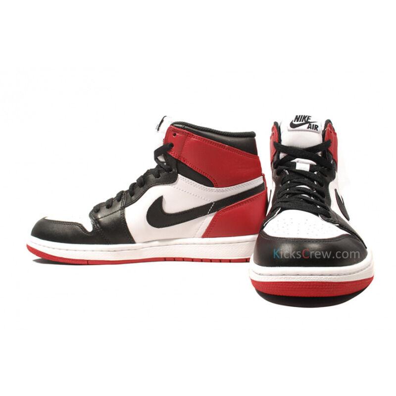 Air Jordan 1 Retro High OG Black Toe 籃球鞋/運動鞋 (555088-184) 海外預訂