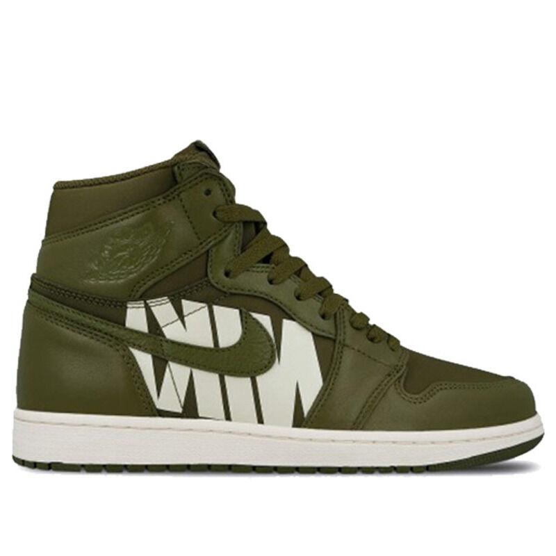 Air Jordan 1 Retro High OG Swoosh - Olive 籃球鞋/運動鞋 (555088-300) 海外預訂