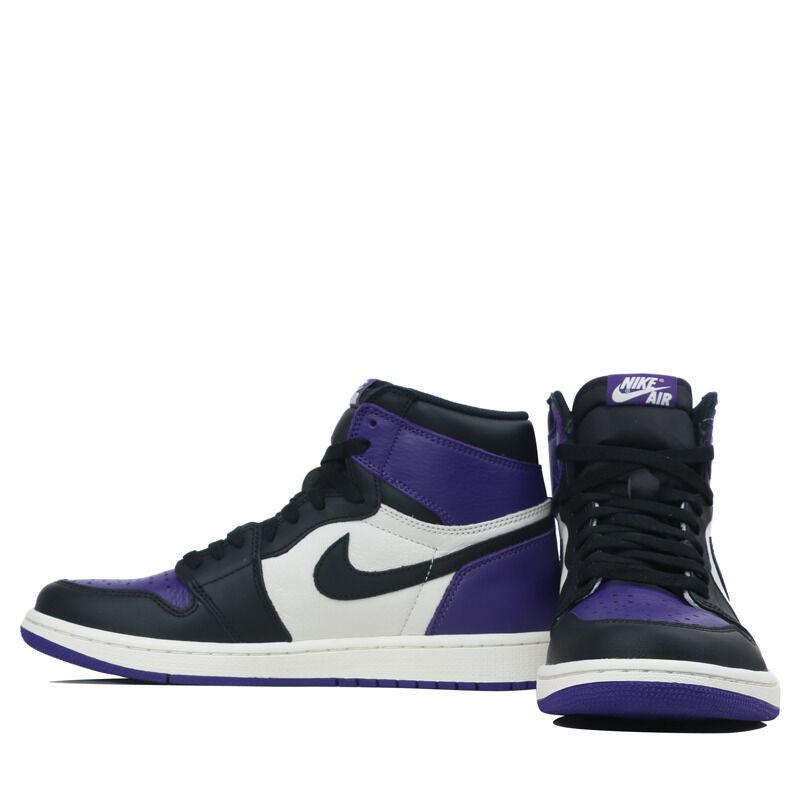 Air Jordan 1 Retro High OG Court Purple 籃球鞋/運動鞋 (555088-501) 海外預訂