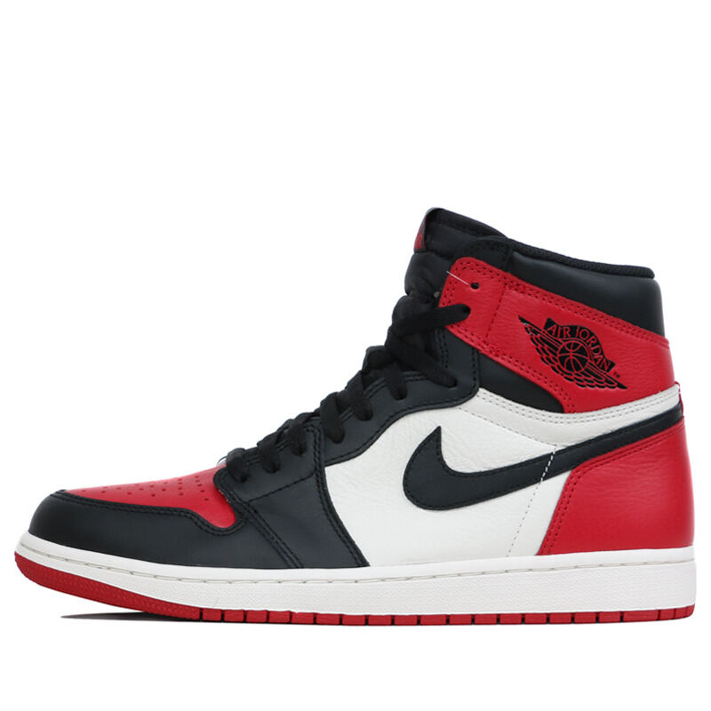 Air Jordan 1 Retro High OG Bred Toe 籃球鞋/運動鞋 (555088-610) 海外預訂