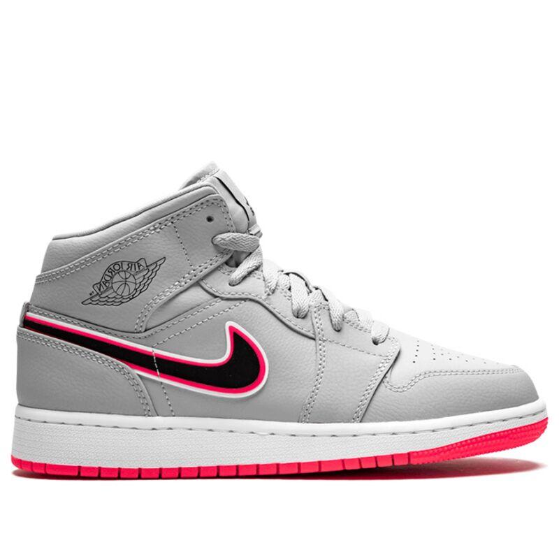 Air Jordan 1 Mid (GS) JORDAN LEGACY 籃球鞋/運動鞋 (555112-060) 海外預訂