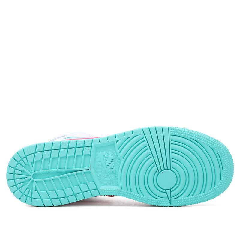 Air Jordan 1 Mid GS Digital Pink 籃球鞋/運動鞋 (555112-102) 海外預訂