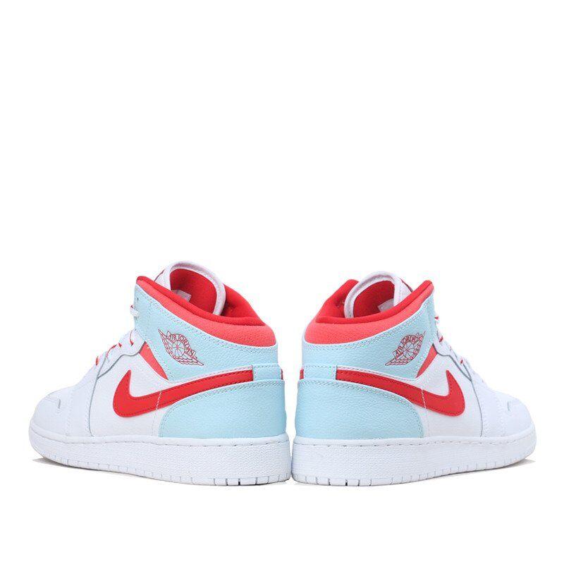 Air Jordan 1 Mid GS Ice Blue 籃球鞋/運動鞋 (555112-104) 海外預訂