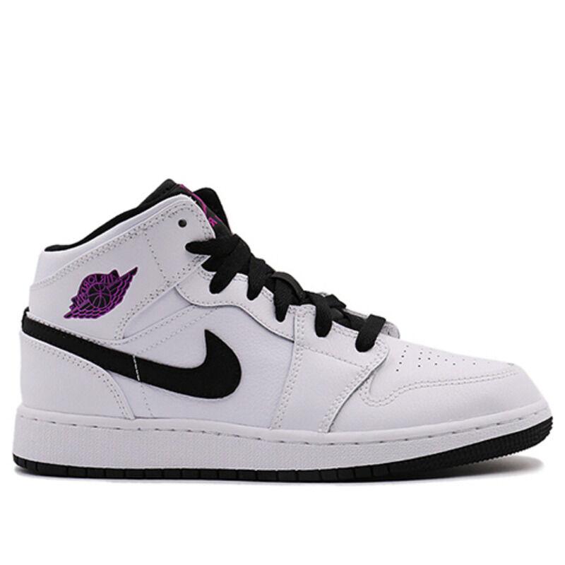 Air Jordan 1 Mid GG White 籃球鞋/運動鞋 (555112-138) 海外預訂