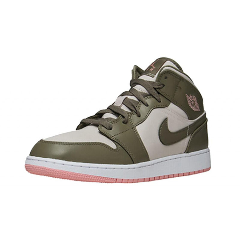 Air Jordan 1 Mid 'Bleached Coral' GG Trooper/Bleached Coral 籃球鞋/運動鞋 (555112-225) 海外預訂