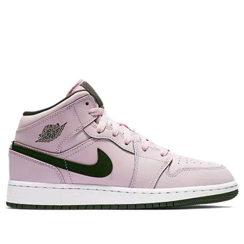 Air Jordan 1 Mid GS Pink Foam 籃球鞋/運動鞋 (555112-601) 海外預訂