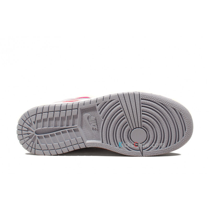 Air Jordan 1 Mid GG Hyper Fuchsia Pink Grey 籃球鞋/運動鞋 (555112-609) 海外預訂