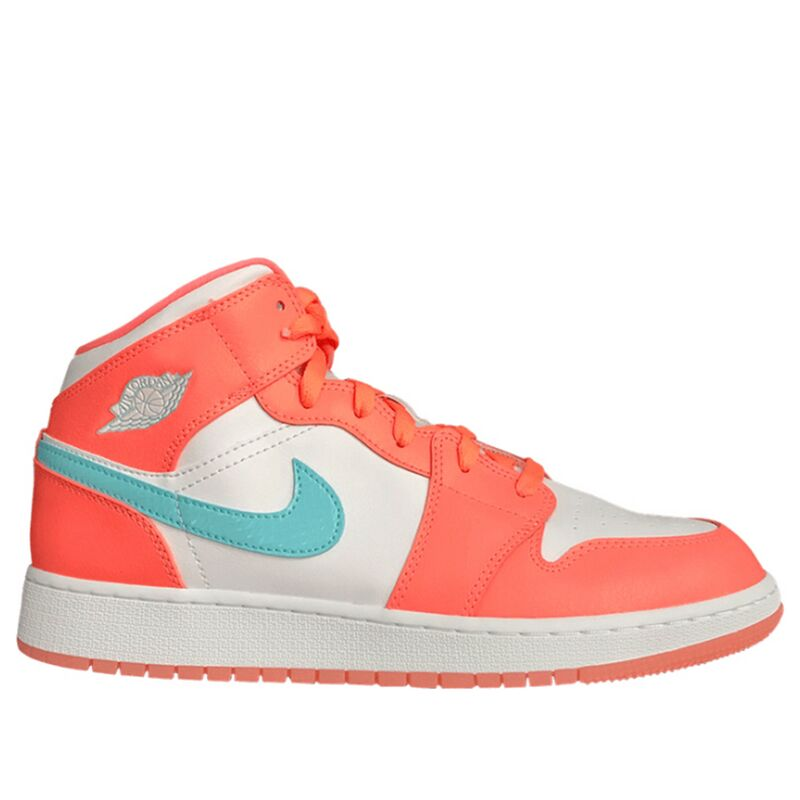 Air Jordan 1 Mid GS Crimson Pulse 籃球鞋/運動鞋 (555112-814) 海外預訂